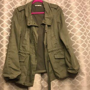 Gap Sz M army green cargo utility jacket